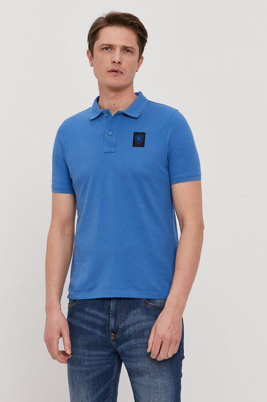 modrá Blauer - Polo tričko Pánský