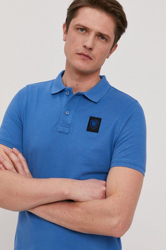 modrá Blauer - Polo tričko