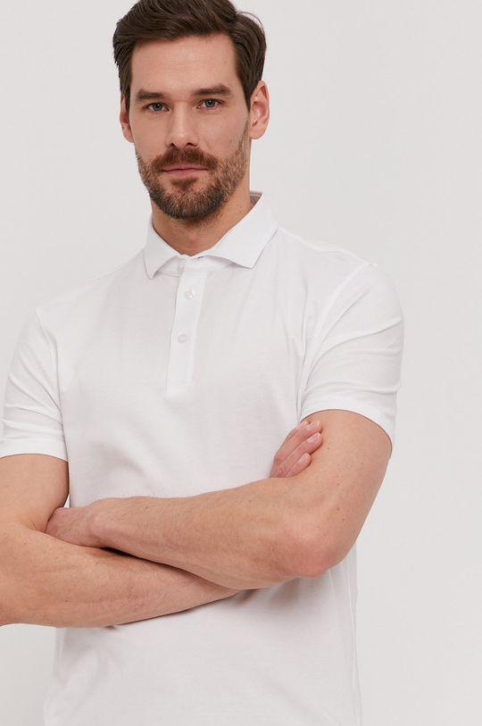 biały Strellson - Polo