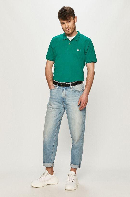 Lee - Polo tričko zelená