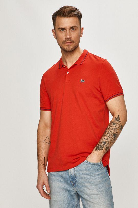 červená Lee - Polo tričko Pánský