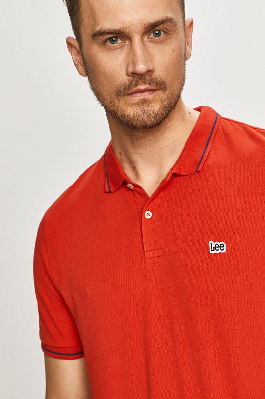 červená Lee - Polo tričko