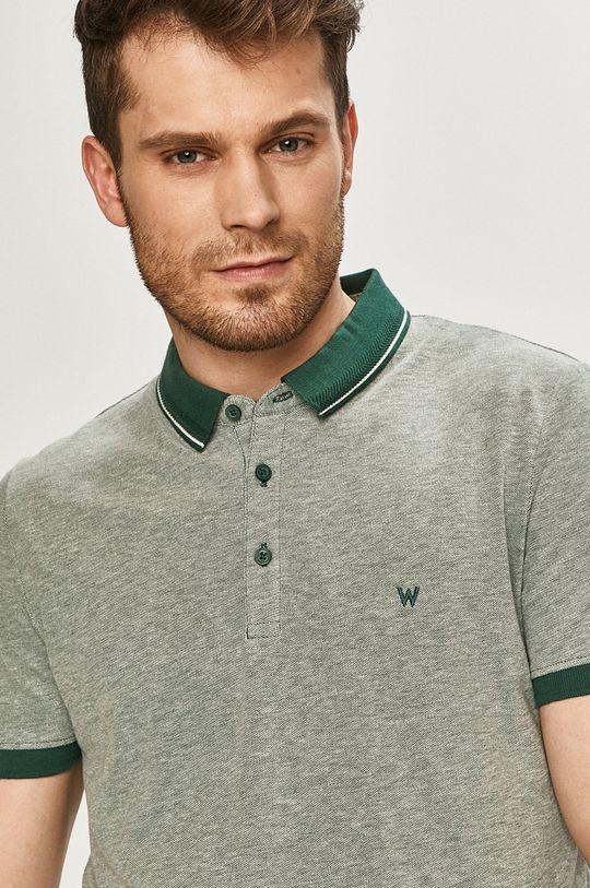 tyrkysová Wrangler - Polo tričko