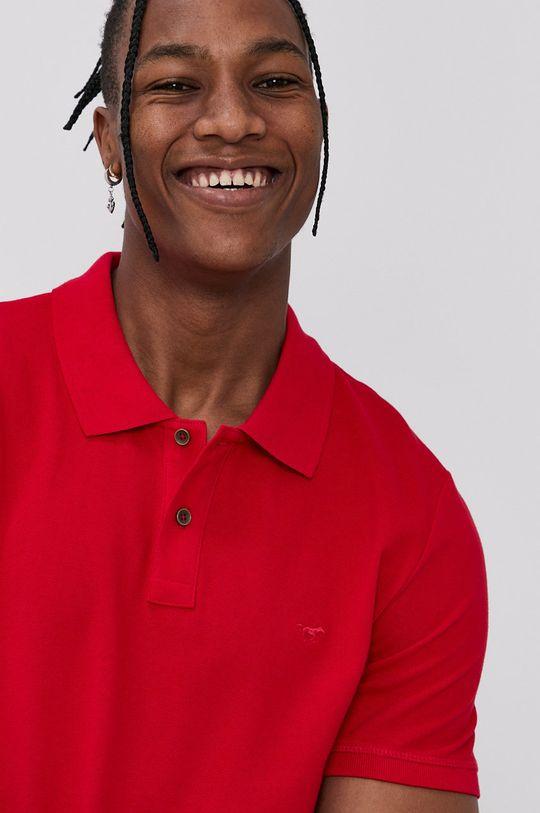 červená Mustang - Polo tričko Pánský