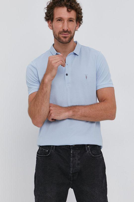 blady turkusowy AllSaints - Polo