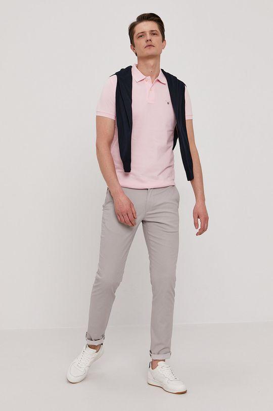 Gant - Polo tričko ružová