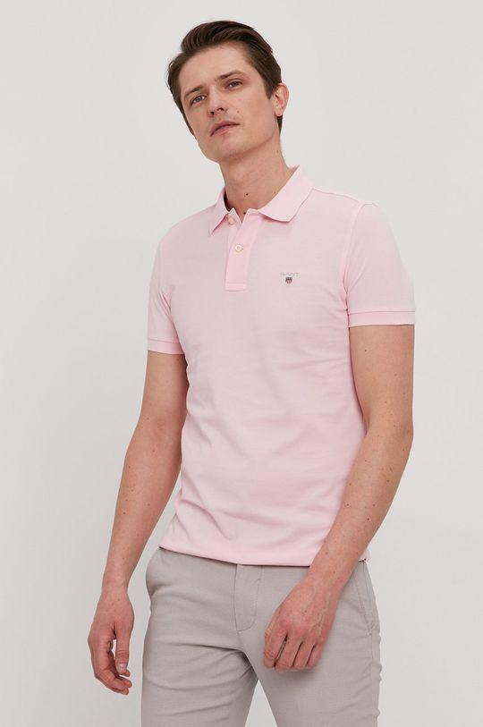 ružová Gant - Polo tričko