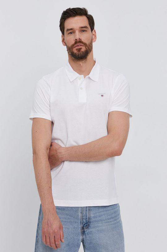 biały Gant - Polo