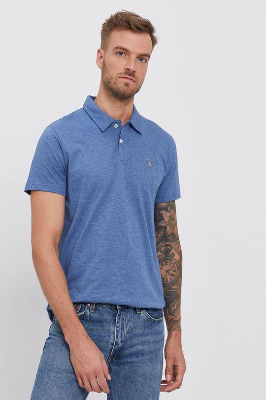niebieski Gant - Polo Męski