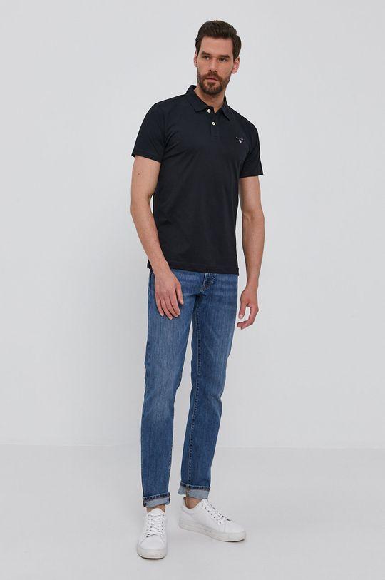 Gant - Polo czarny