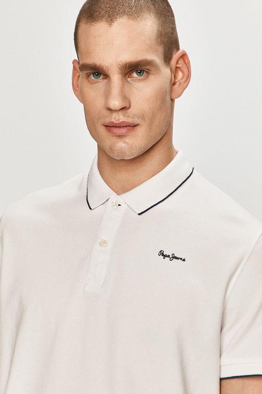 biały Pepe Jeans - Polo Lucas