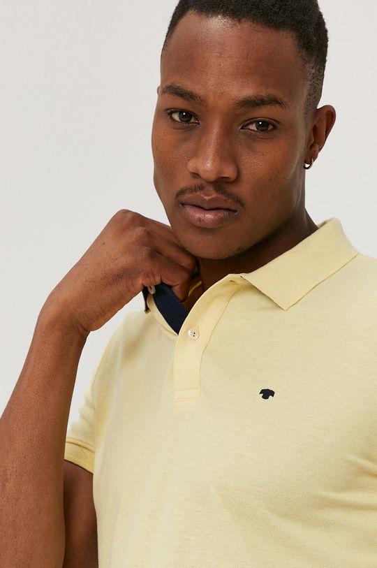 svetložltá Tom Tailor - Polo tričko