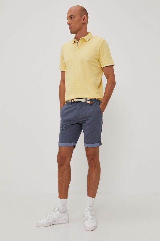 Tom Tailor - Polo tričko jasně žlutá