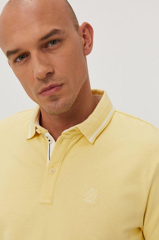 jasně žlutá Tom Tailor - Polo tričko
