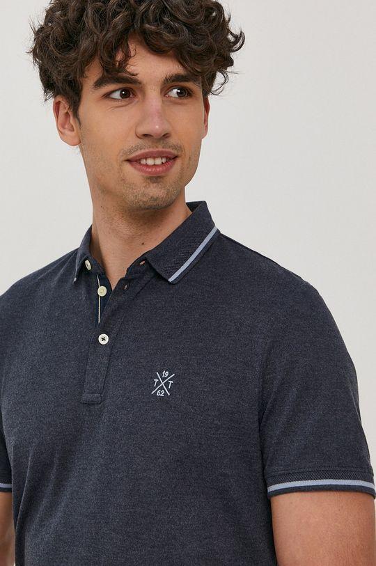 tmavomodrá Tom Tailor - Polo tričko