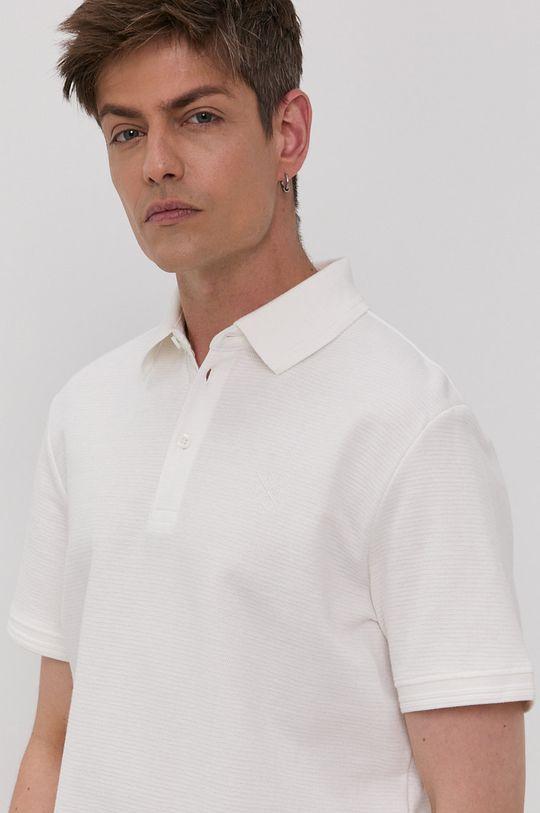 biały Tom Tailor - Polo Męski