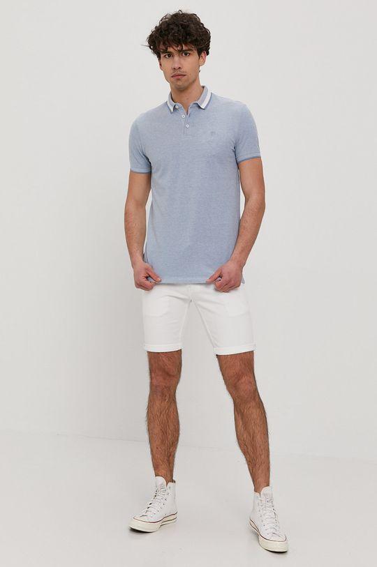 Tom Tailor - Polo niebieski