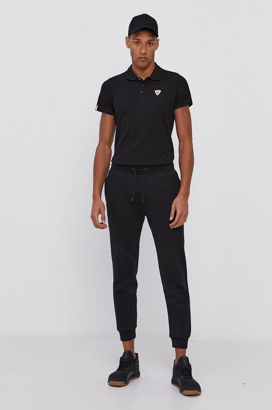 čierna Rossignol - Polo tričko Pánsky