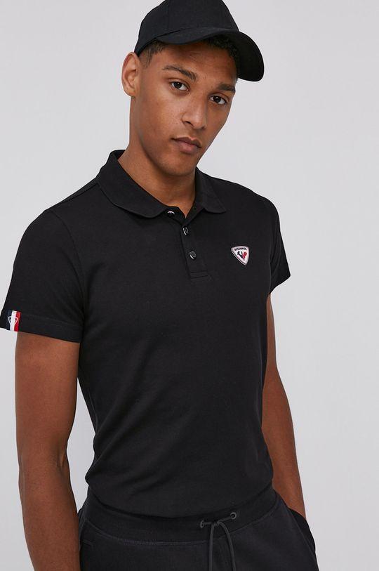 Rossignol - Polo tričko čierna