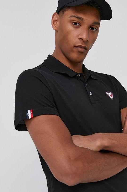 čierna Rossignol - Polo tričko