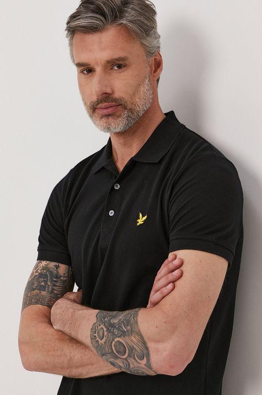 čierna Lyle & Scott - Polo tričko