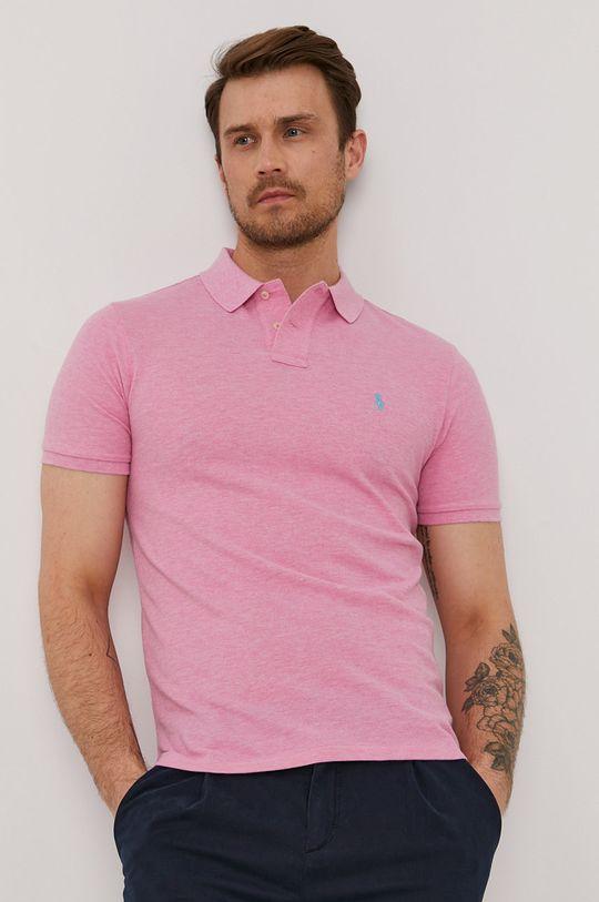 roz Polo Ralph Lauren - Tricou Polo De bărbați