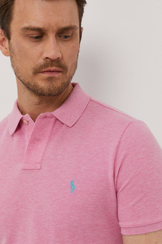 roz Polo Ralph Lauren - Tricou Polo