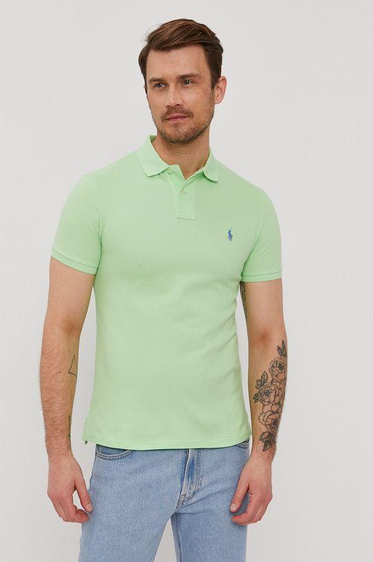 jasny zielony Polo Ralph Lauren - Polo Męski
