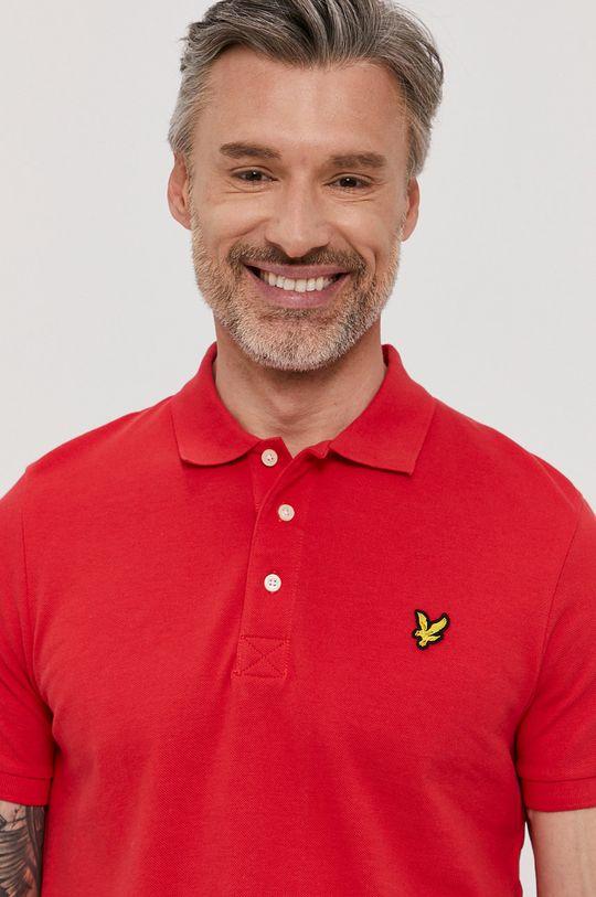 červená Lyle & Scott - Polo tričko