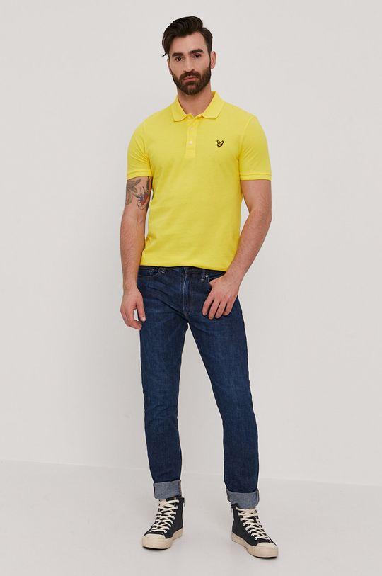 Lyle & Scott - Polo tričko žlutá