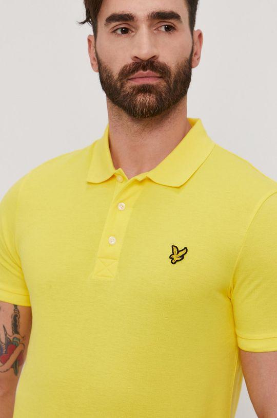 žlutá Lyle & Scott - Polo tričko
