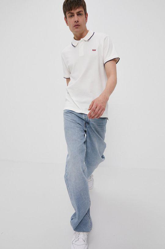 Levi's - Tricou Polo crem