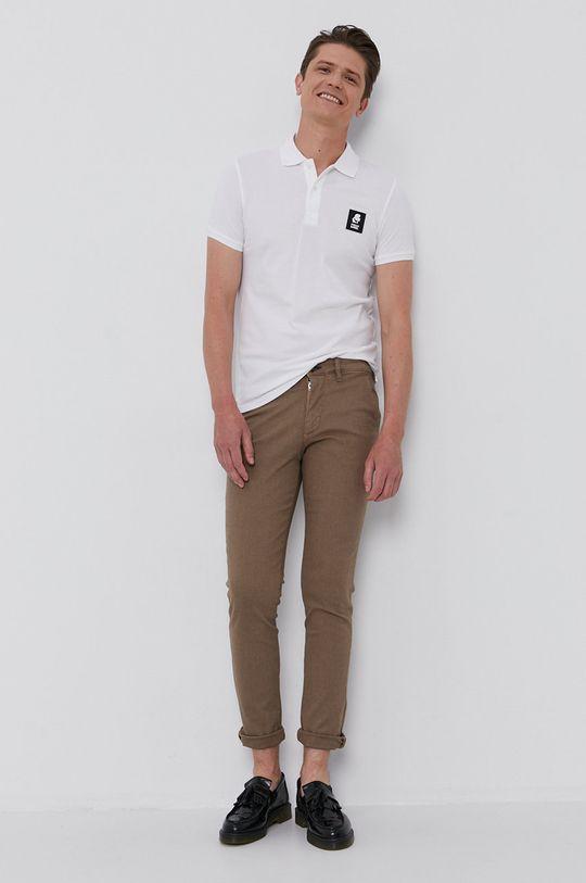 Karl Lagerfeld - Polo tričko bílá