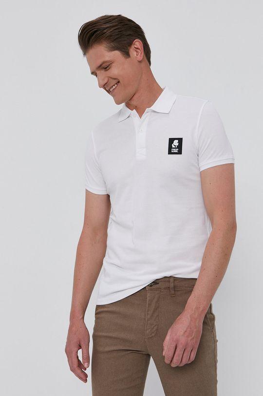 bílá Karl Lagerfeld - Polo tričko
