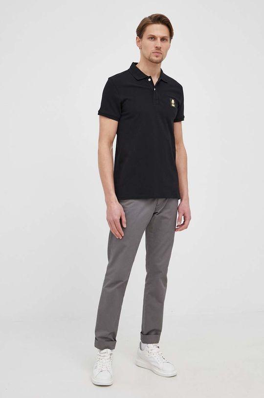 Karl Lagerfeld - Polo tričko čierna