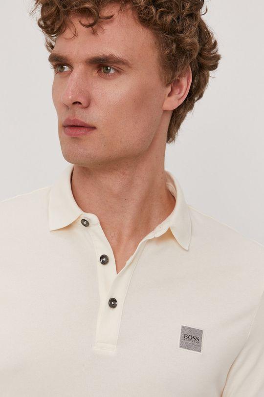 smetanová Boss - Polo tričko BOSS CASUAL