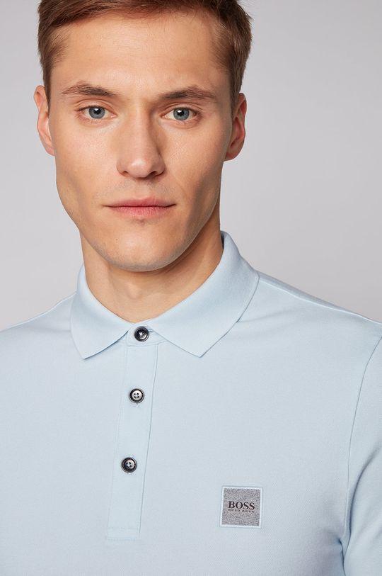 světle modrá Boss - Polo tričko BOSS CASUAL