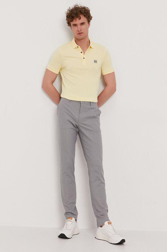 žltá Boss - Polo tričko BOSS CASUAL Pánsky