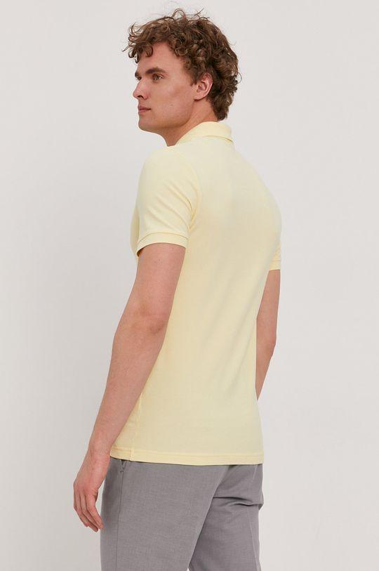 Boss - Polo tričko BOSS CASUAL žltá