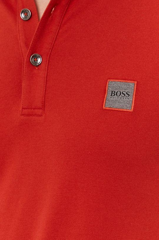 mandarínková Boss - Polo tričko BOSS CASUAL
