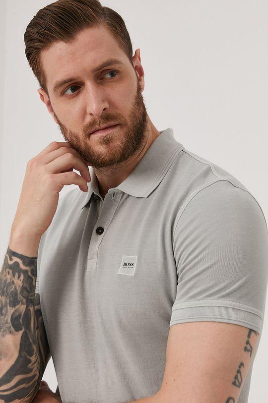gri Boss - Tricou Polo BOSS CASUAL De bărbați