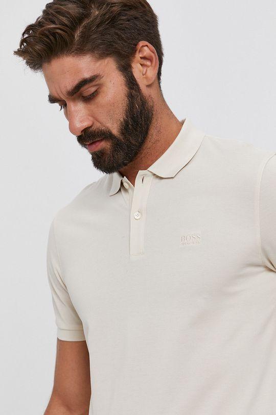 krémová Boss - Polo tričko