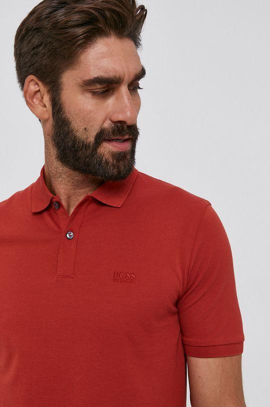 červená Boss - Polo tričko