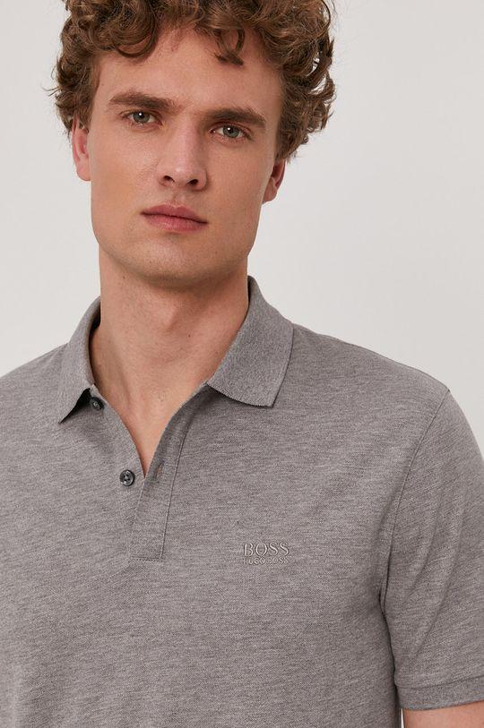 šedá Boss - Polo tričko