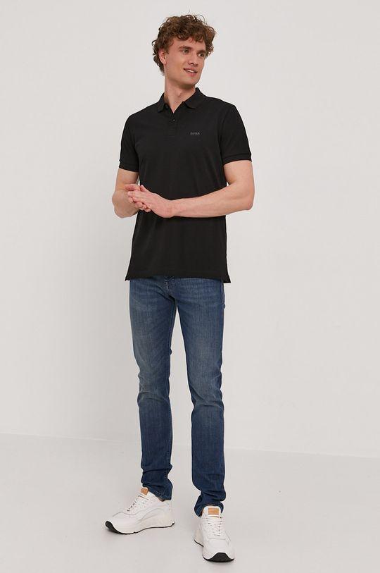 Boss - Polo tričko Athleisure čierna