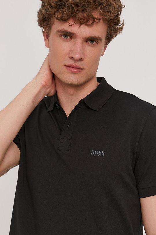čierna Boss - Polo tričko Athleisure