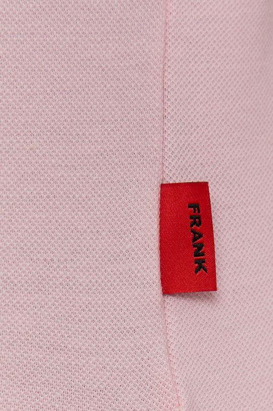 pastelowy różowy John Frank - Polo