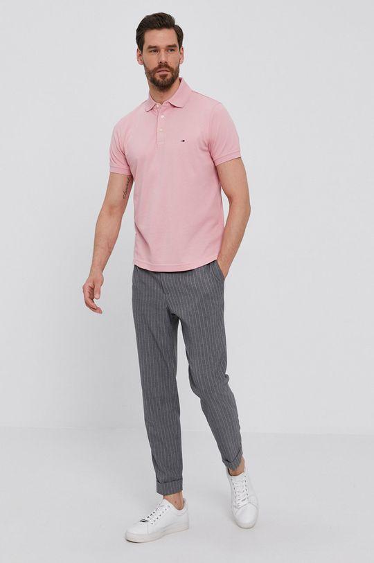 Tommy Hilfiger - Polo tričko růžová