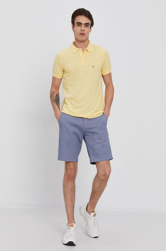 Tommy Hilfiger - Polo tričko žlutá