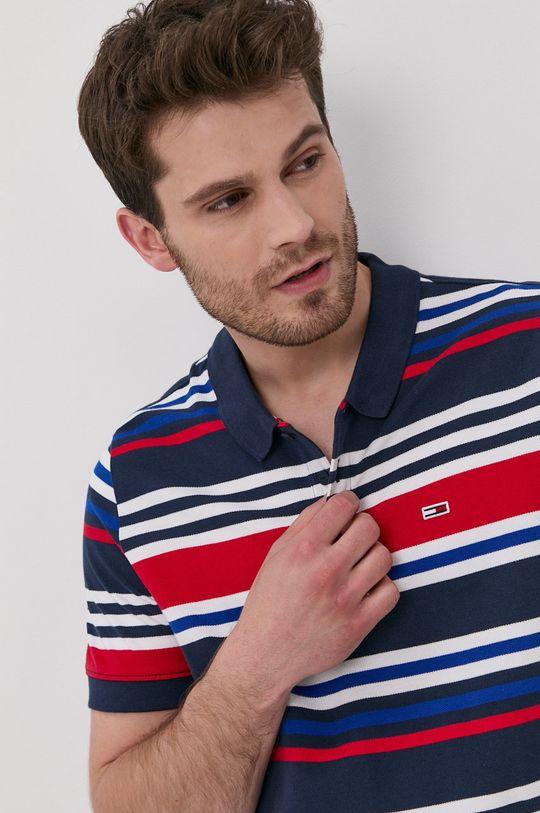 vícebarevná Tommy Jeans - Polo tričko Pánský